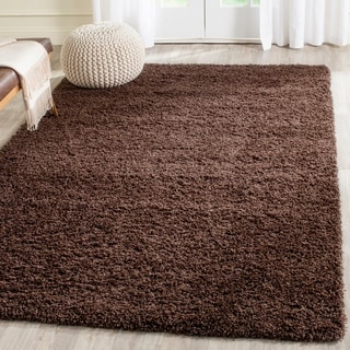 Safavieh Laguna Shag Brown Rug (5'3 x 7'6)