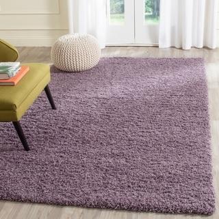 Safavieh Laguna Shag Purple Rug (5'3 x 7'6)