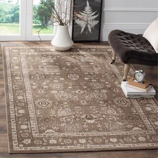 Safavieh Artisan Brown/ Brown Cotton Rug (10' x 14')