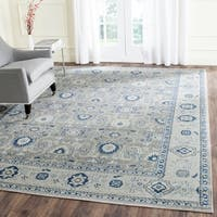 Safavieh Artisan Vintage Grey/ Silver Distressed Area Rug - 8' x 10'