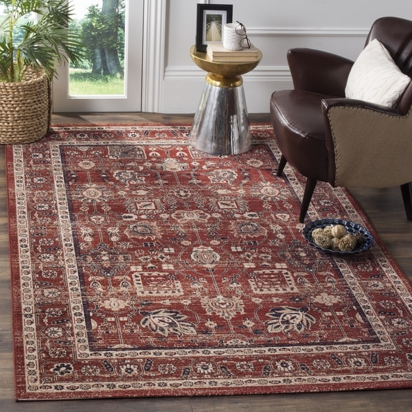 Safavieh Artisan Vintage Rust Distressed Area Rug (8' x 10')
