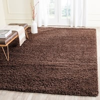 Safavieh Laguna Shag Brown Rug - 8' x 10'