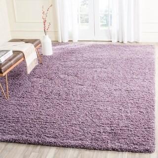 Safavieh Laguna Shag Purple Rug (8' x 10')