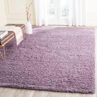 Safavieh Laguna Shag Purple Rug - 8' x 10'