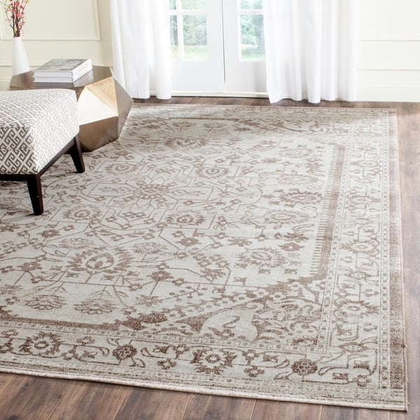 Safavieh Artisan Vintage Beige/ Brown Distressed Area Rug - 9' x 12'