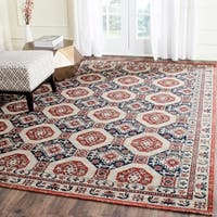 Safavieh Artisan Vintage Navy/ Rust Distressed Area Rug - 9' x 12'