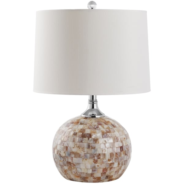 Safavieh Lighting 21.5-inch Nikki Shell Table Lamp
