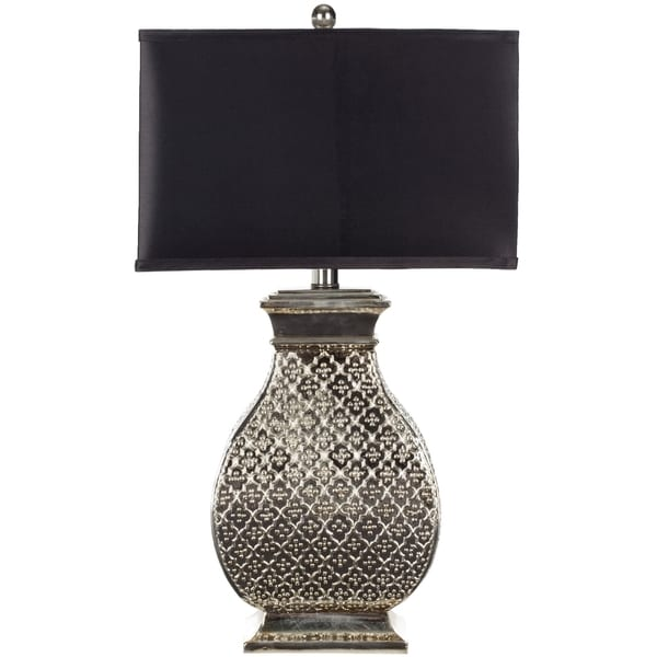 Safavieh Lighting 30-inch Malaga Silver Table Lamp