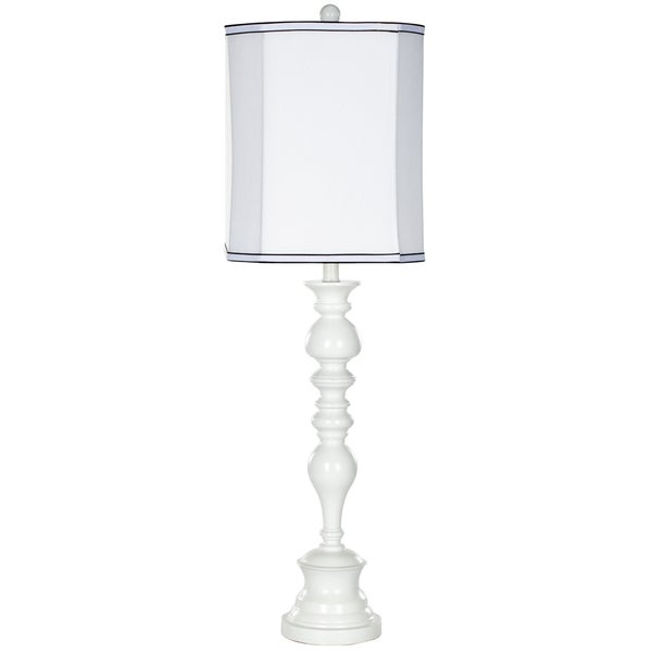 Safavieh Lighting 36-inch Polly Candlestick White Table Lamp