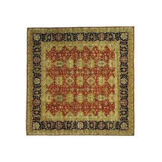Karajeh Square Oversize Handmade Pure Wool Oriental Rug (11'9 x 11'9)