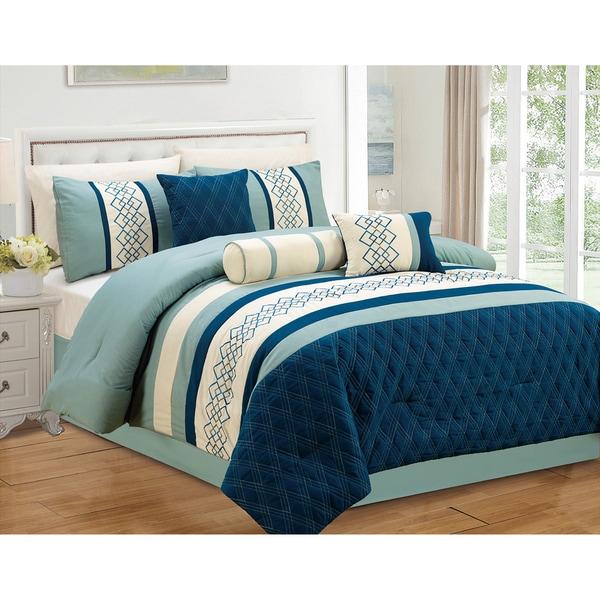Journee Home 'Leon' 7 pc Comforter Set
