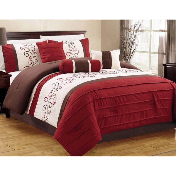 Journee Home 'Zafra' 7 pc Comforter Set