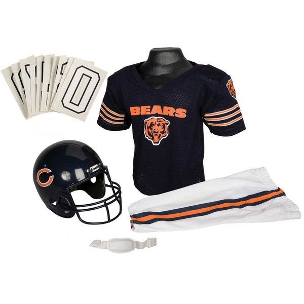 Franklin Sports NFL Chicago Bears Deluxe Youth Uniform Set (Small)