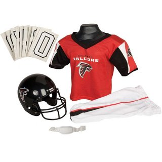 Franklin Sports NFL Atlanta Falcons Deluxe Youth Uniform Set (Small)