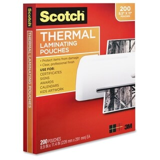 Scotch Laminating Pouches - 200/PK