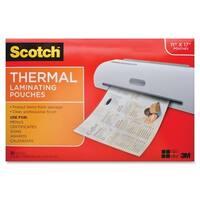 Scotch Thermal Laminator Menu Size Pouches - 25/PK