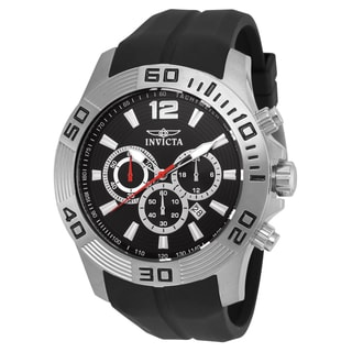 Invicta Men's 20294 Pro Diver Quartz Chronograph Black Dial Watch
