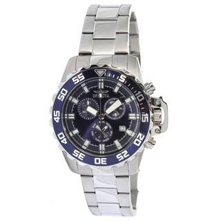 Invicta Men's 13625 'Pro Diver' Blue Dial Link Watch