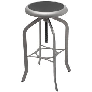 Adeco Industrial Style Swivel Bar Stools
