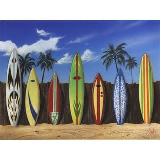 Scott Westmoreland 'Starting Line Up' Gallery Wrapped Canvas