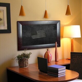 American Made Rayne Espresso Leather Blackboard/Chalkboard (More options available)