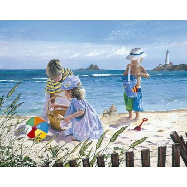 Scott Westmoreland 'Fun in the Sun' Gallery Wrapped Canvas