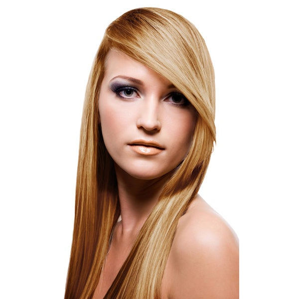 Shop Sono 100 Percent Human Hair Side Swept Clip In Bang Extensions