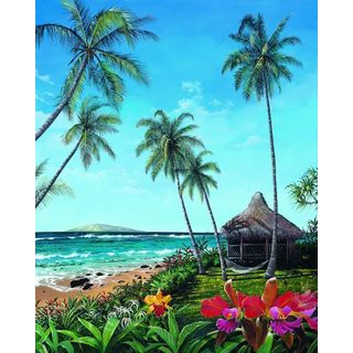Scott Westmoreland 'Maui Morning' Gallery Wrapped Canvas