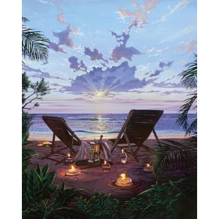 Scott Westmoreland 'Two If By Sea' Gallery Wrapped Canvas