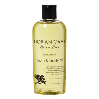Dorian Gray Rose Petals Mineral Bath and Massage Oil