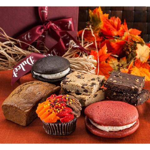 Happy Thanksgiving Elegant Fall Deluxe Gift Basket