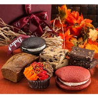 Happy Thanksgiving Elegant Fall Deluxe Gift Basket