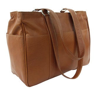 Piel Leather Medium Shopping Bag (3 options available)