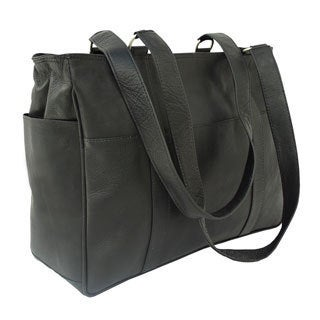 Piel Leather Small Shopping Bag