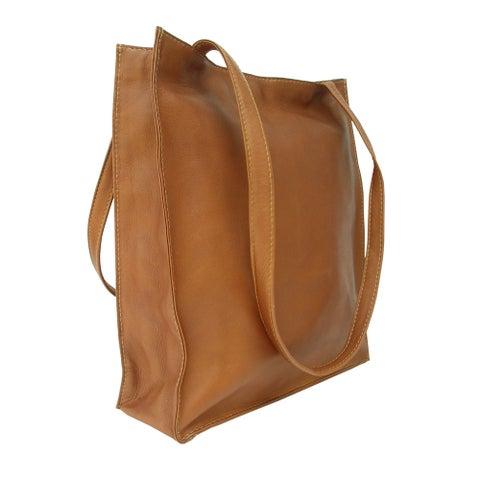 Piel Leather Open Market Bag