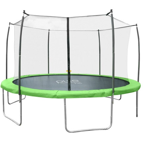 Pure Fun Dura-Bounce 14-Foot Trampoline with Enclosure