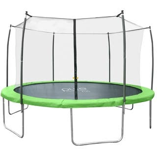 Pure Fun Dura-Bounce 14 foot Trampoline with Enclosure|https://ak1.ostkcdn.com/images/products/10907550/P17939738.jpg?impolicy=medium