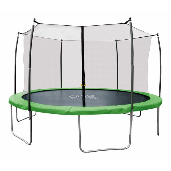 Pure Fun Dura-Bounce 14 ft. Trampoline with Enclosure