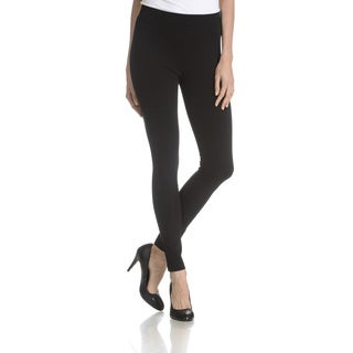 Joan Vass New York Women's Back Seam Detail Pant