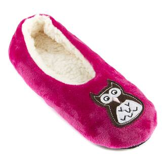 Leisureland Women's Fleece Lined Embroidery Cozy Slippers|https://ak1.ostkcdn.com/images/products/10907718/P17939773.jpg?impolicy=medium