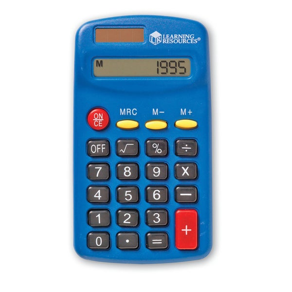 Learning Resources Primary Calculator Set (10/pkg)