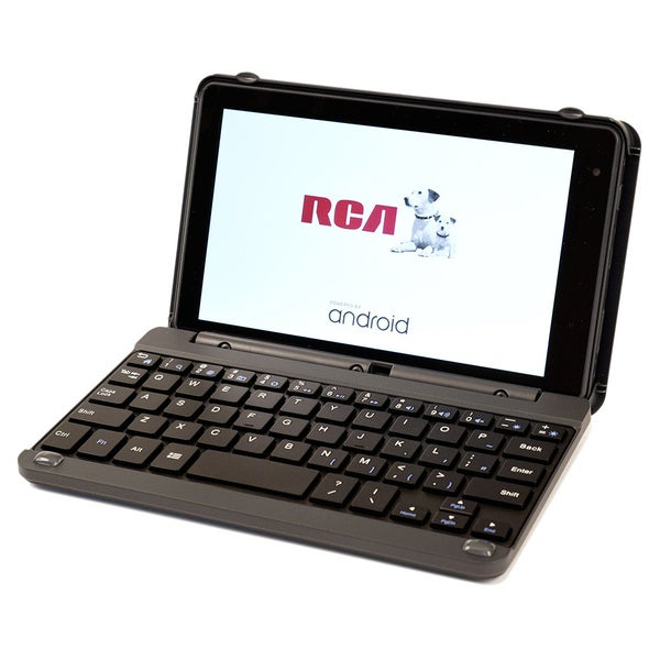 RCA Pink Voyager Pro 7-inch Google Certified Tablet