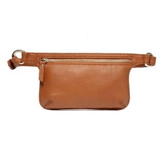 Vicenzo Leather Arlette Leather Waist Bag / Belt Bag