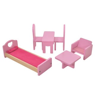Fortune East Wooden Dollhouse Furniture - 6-piece set