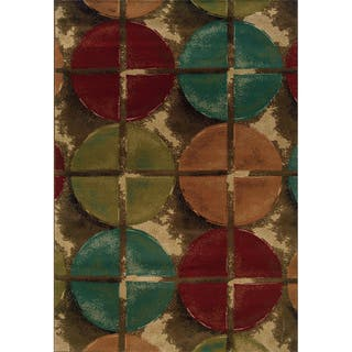 Indoor Brown/ Teal Area 1'10 x 3'3 Rug (As Is Item)|https://ak1.ostkcdn.com/images/products/10908944/P90009716.jpeg?impolicy=medium