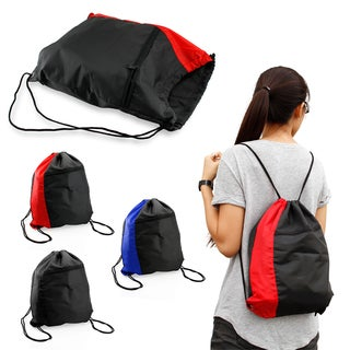 Gearonic Drawstring Backpack Cinch Sack School Tote Gym Bag Sport Pack (2 options available)