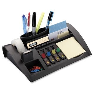 Post-it Weighted Desktop Organizer - 1/EA https://ak1.ostkcdn.com/images/products/10909028/P17940890.jpg?impolicy=medium