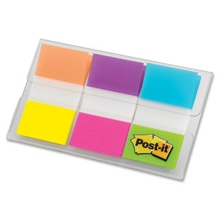 "Post-it 1"" Alternating Electric Glow Flags - 60/PK"
