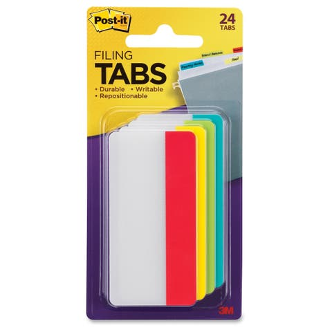 3M Post-it Filing Tab - 24/PK