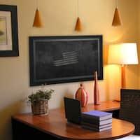 American Made Rayne Attractive Matte Black Blackboard/Chalkboard